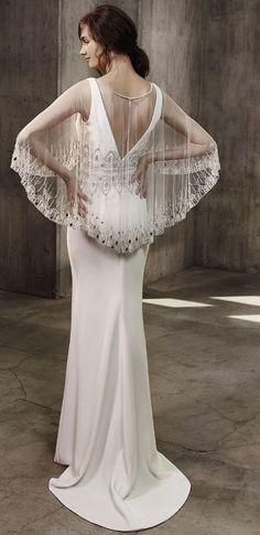 Featured Dress: Badgley Mischka; Wedding dress idea.