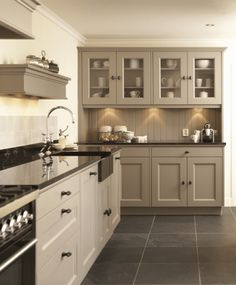 Taupe Kitchen Cabinet and Wall Color. Taupe Kitchen Cabinet and Wall Color. 10 Kitchen Trends Here to Stay Kitchen Redo, Rustic Kitchen, Kitchen Remodel, Kitchen Tile, Kitchen Paint, Nice Kitchen, Country Kitchen, Beige Kitchen Cabinets, Dark Cabinets