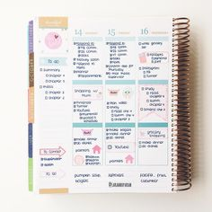 """studytwice: """" November 16, 2016 // I feel so untouched Midweek in my Erin Condren Life Planner I really have to study, so I'm thinking it might be library time! ✨ 