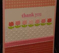 Thank You Card by CurlyCardsShop on Etsy, $5.00
