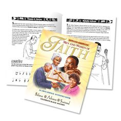 African-American Men And Women Of Faith Educational Activities Book  Item # KCB598V
