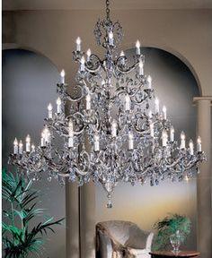 Classic Lighting Crystal Chandelier from the Princeton II Collectio Swarovski Strass Indoor Lighting Chandeliers Lantern Chandelier, Rectangle Chandelier, Chandelier Ceiling Lights, Lantern Pendant, Millenium, Classic Lighting, Classic Style, Swarovski, Bronze