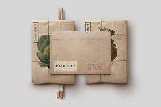 Love the packaging and the illustrations. Puree Organics by Studioahamed ®