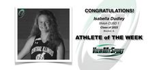 Congratulations to this week's ViewMySport ATHLETE of THE WEEK - ISABELLA DUDLEY - Basketball (Shooting Guard/Power Forward) - Shiloh CUSD 1 - Class of 2022 - (Brocton, IL)... GREAT JOB ISABELLA!  https://www.viewmysport.com/r-1163-isabella-dudley-basketball  ViewMySport.com - Your #1 Collegiate Sports Recruiting Support Agency