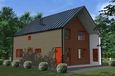 Проект каркасного дома TRUMP 155 кв.м. http://www.ekonia.ru  The project of frame house TRUMP 155m2 vid 2