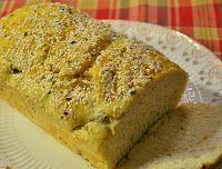 Pão de Ervas com Gergelim