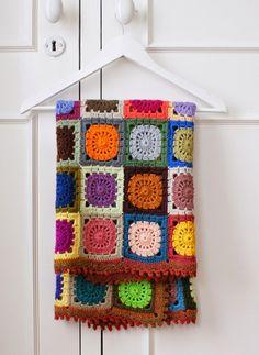 crochet motif blanket