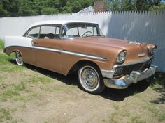 Chevrolet: Bel Air/150/210 1956 chevy belair 2 dr hardtop barn find Check more at http://auctioncars.online/product/chevrolet-bel-air150210-1956-chevy-belair-2-dr-hardtop-barn-find/