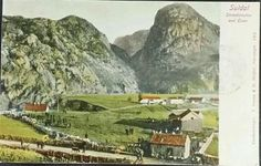 Rogaland fylke Suldal kommune Straabønuten og Østen utg Greve og Stråbø 1901
