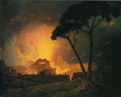 Joseph Wright of Derby >> La Girandola annuale, presso il Castello di ...