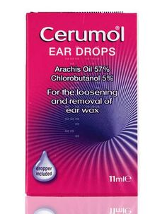Pharmacy Cerumol 11ml Cerumol Ear Drops helps to break down ear wax by softening and loosening wax and clearing the ear canal.A liquid suitable for the softening and removal of ear wax. Penetrating deeper into the ear to e http://www.MightGet.com/january-2017-11/pharmacy-cerumol-11ml.asp