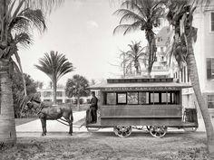 Трамваи начала 20-го века на снимках американских фотографов (16)