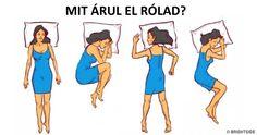 Személyiségedről árulkodik, hogy milyen pózban alszol