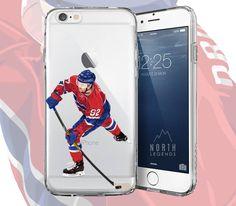 """""""Joe"""" hockey phone cases."""