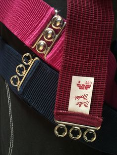 TENNESSEE - Malco Modes elastic belts. Many colors!