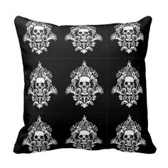 Rest your head on one of Zazzle's Skull decorative & custom throw pillows. Skull Pillow, Decorative Throw Pillows, Bones, Cool Stuff, Skulls, Gifts, Decorating, Decor, Accent Pillows