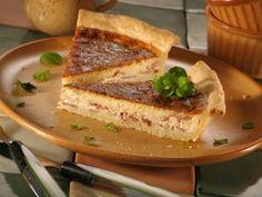 Quiche s cibulí a slaninou - Recepty na každý den