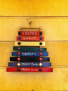 Nizza - sign on the wall