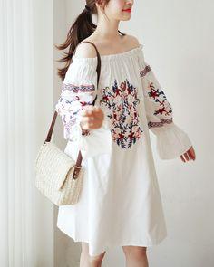 Set Fashion, Korea Fashion, Asian Fashion, Fashion Beauty, Girl Fashion, Fashion Dresses, Womens Fashion, Fashion Design, Fashion Trends