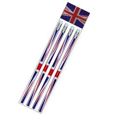 Union Jack Lead Pencils With Erasers (PACK OF 4 - LOOSE) Party Bag Toys Union Jack http://www.amazon.co.uk/dp/B007JKPPV8/ref=cm_sw_r_pi_dp_5d44vb1BKX7VH