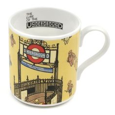 Underground mug. From LT Museum Shop.