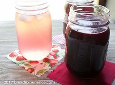 Berry Shrub Syrup-In