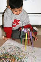 Great way to teach about circuits in a fun, artistic way! Very engaging for younger kids. FangleTronics: Drawing Vibrobots