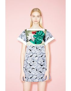 Peter+Pilotto+Tabitha+Embroidered+Silk-blend+Lace+Dress+%23refinery29