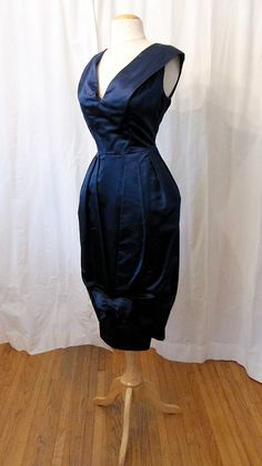 1950's Couture Designer Dress