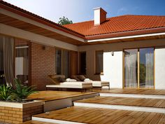 Interior S, Pool Houses, Home And Living, Exterior Design, Architecture Design, Modern, Decoration, Pergola, Outdoor Structures