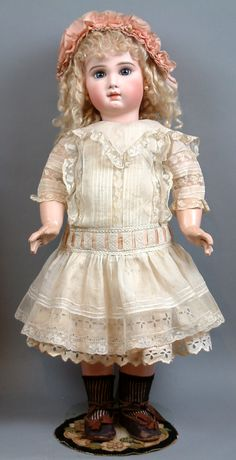 "~48hrs Only~Rarest 28"" Incised Depose Jumeau Bebe All Antique With from kathylibratysantiques on Ruby Lane"