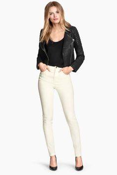 Spodnie elastyczne High waist | H&M