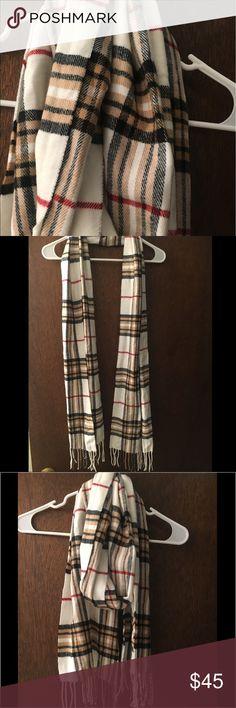 Plaid Scarf Super soft plaid multi colored scarf Accessories Scarves & Wraps