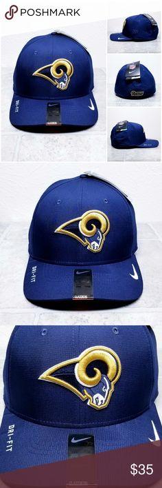 Los Angeles Rams NFL Nike Swoosh Flex Dri-fit Hat BRAND NEW WITH TAGS 🏷 b073319d4