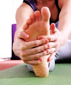 Forward fold - stretch for split
