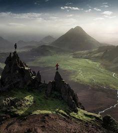 Fjallabaksleid, Islande