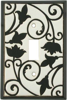 ALMOND FILIGREE Switch Plates, Outlet Covers & Rocker Switchplates