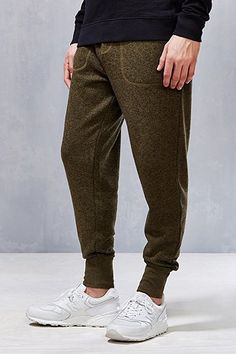 BDG Green Twist Knit Sweatpants - Urban Outfitters