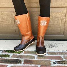 Monogram Chloe Duck Boots – I Love Jewelry