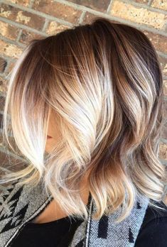 20 Blonde Balayage Ideas for Short Straight Hair, Regardless of your hair type a. - 20 Blonde Balayage Ideas for Short Straight Hair, Regardless of your hair type approach to flaunt e - Platinum Blonde Balayage, Balayage Blond, Hair Color Balayage, Balayage On Short Hair, Short Straight Hair, Straight Hairstyles, Short Haircuts, Trendy Hairstyles, Wedding Hairstyles