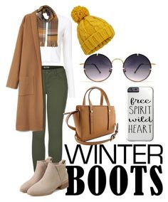 """""""Winter Boots"""" by counteverymoment ❤ liked on Polyvore featuring 2LUV, Proenza Schouler, Miss Selfridge and Spitfire"""