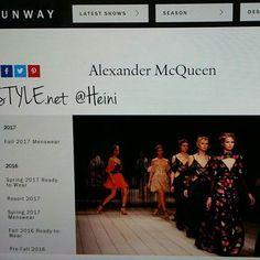 VOGUE NEWS&TRENDS. FSHION Desig, Designers RUNWAY. SEASONS&Collections ALEXANDER MCQUEEN DESIG. World Famous&popular. Watch Info. Recommended. SMILE #vogue #voguemagazine #alexandermcqueen #desig #collection #runway #blogilates #blog ❤📰🔝💡📷☺😉👀💓👏