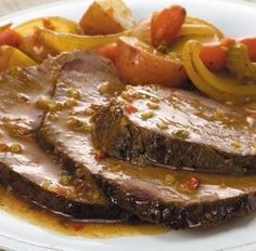 Happy Foods, Greek Recipes, Steak, Bacon, Food And Drink, Dessert Recipes, Pork, Herbs, Lunch