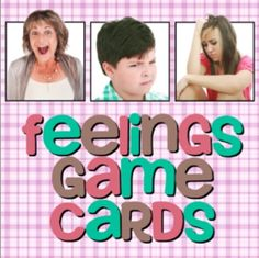 These cards contain visual depictions of 12 commonly taught emotions:    - Surprised  - Angry  - Stressed  - Frustrated  - Sad  - Happy  - Embarrassed  - Lonely  - Disgusted  - Scared  - Excited  - Worried    These cards can be used for everything from visual cues, to Go Fish, to matching, to story prompts, vocabulary games, to everything in between. #feelings #social skills #games