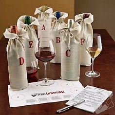 Blind Wine Tasting Parties are so much fun!