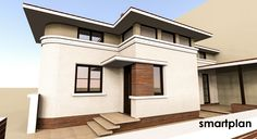 Small house - 125 square meters.