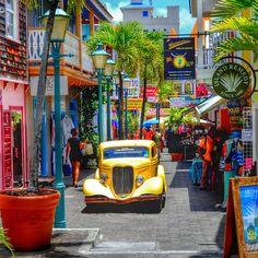 Philipsburg Old Street, St. Maarten @vacationsxm