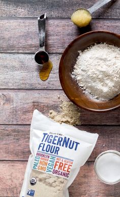 Paleo Carrot Cake recipe + tips on using Tigernut Flour, the newest grain-free flour.