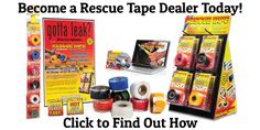 Check out Rescue Tape brand of Silicone Tape - The best stuff for emergency leak repair on pipes and hoses.