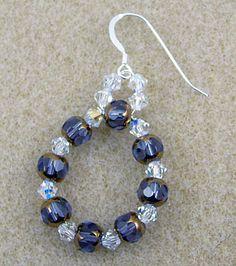 Sparkly Beaded Earrings